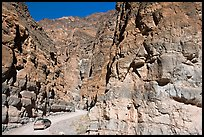 Titus Canyon Narrows. Death Valley National Park, California, USA. (color)