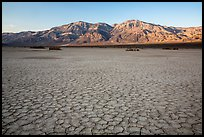 Mud playa, Panamint Valley. Death Valley National Park ( color)