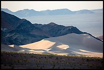 Ibex Dunes, mountains and valleys. Death Valley National Park ( color)