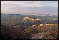 Little Sand Bernardino Mountains from Keys View, early morning. Joshua Tree National Park, California, USA.