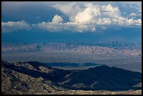 Desert mountains and afternoon clouds, Rincon Mountain District. Saguaro National Park ( color)