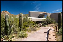 Red Hills Visitor Center. Saguaro National Park ( color)