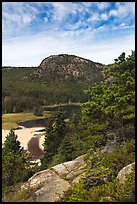 Tidal creek and Behive. Acadia National Park ( color)