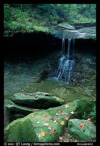 Blue Hen falls. Cuyahoga Valley National Park, Ohio, USA.