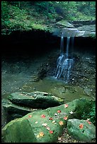 Blue Hen falls. Cuyahoga Valley National Park, Ohio, USA. (color)