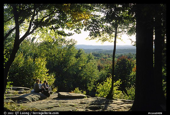 Ledges overlook. Cuyahoga Valley National Park (color)