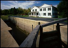 Lock and Canal visitor center. Cuyahoga Valley National Park ( color)