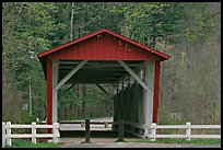 Everett Road covered bridge. Cuyahoga Valley National Park ( color)