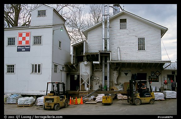Wilson Feed  Mill. Cuyahoga Valley National Park (color)