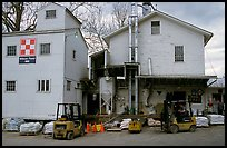 Wilson Feed  Mill. Cuyahoga Valley National Park, Ohio, USA. (color)