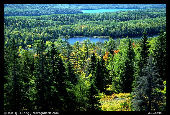 Lake Ojibway. Isle Royale National Park, Michigan, USA.