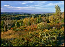 View from Greenstone ridge, looking towards Siskiwit lake. Isle Royale National Park ( color)