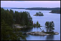 Anderson Bay. Voyageurs National Park, Minnesota, USA.