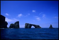 Arch Rock, East Anacapa. Channel Islands National Park ( color)