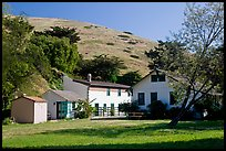 Historic Scorpion Ranch, Santa Cruz Island. Channel Islands National Park, California, USA. (color)
