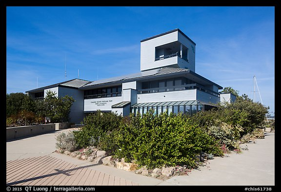 Robert Lagomarsino Visitor Center. Channel Islands National Park (color)