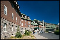 Crater Lake Lodge. Crater Lake National Park, Oregon, USA.