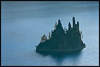 Phantom Ship. Crater Lake National Park, Oregon, USA. (color)