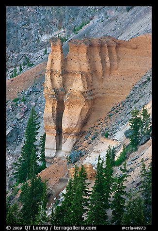 Pumice Castle. Crater Lake National Park, Oregon, USA.