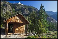 Knapps Cabin. Kings Canyon National Park ( color)