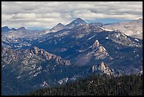 Sierra Peaks. Kings Canyon National Park ( color)