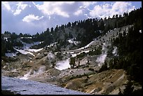 Bumpass Hell thermal area. Lassen Volcanic National Park ( color)