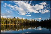 Summit Lake. Lassen Volcanic National Park ( color)