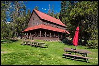 Drakesbad Guest Ranch. Lassen Volcanic National Park ( color)