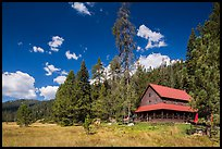 Drakesbad Ranch and Warner Valley. Lassen Volcanic National Park ( color)