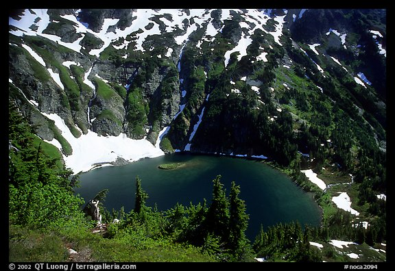 Doubtful Lake, North Cascades National Park.  (color)