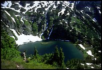 Doubtful Lake, North Cascades National Park.  ( color)