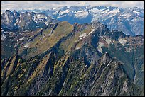 View towards the Pickets, North Cascades National Park. Washington, USA.