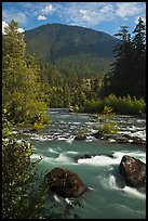 Elwha River. Olympic National Park ( color)