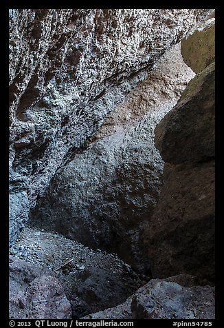 Rocks, Balconies Cave. Pinnacles National Park (color)