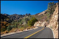 Bear Gulch road. Pinnacles National Park ( color)