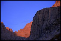 First light on Mt Whitney chain. Sequoia National Park ( color)