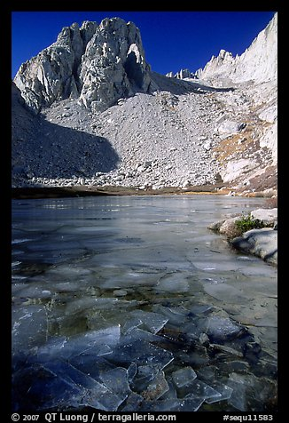 Consultation Lake in late November. Sequoia National Park (color)