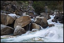 Marble fork of Kaweah River in spring. Sequoia National Park ( color)