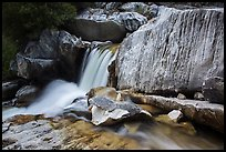 Cascade in Marble falls of Kaweah River. Sequoia National Park ( color)