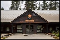 Lodgepole Visitor Center. Sequoia National Park ( color)