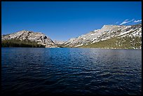 Tenaya Lake, afternoon. Yosemite National Park ( color)