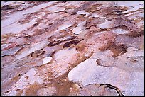 Eroded granite slabs, Canyon of the Tuolumne. Yosemite National Park ( color)