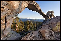 Indian Arch, late afternoon. Yosemite National Park, California, USA. (color)