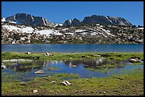 Evelyn Lake. Yosemite National Park ( color)