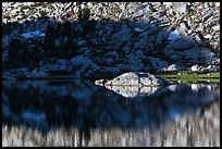 Rock and shadow, Vogelsang Lake. Yosemite National Park ( color)