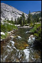 Merced River, Upper Merced River Canyon. Yosemite National Park ( color)