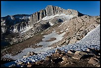 North Peak seen from McCabe Pass. Yosemite National Park ( color)