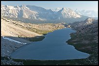 Roosevelt Lake from above, late afternoon. Yosemite National Park ( color)