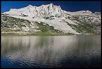 Sheep Peak and  Roosevelt Lake. Yosemite National Park ( color)