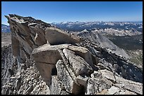 Top of Mount Conness. Yosemite National Park ( color)